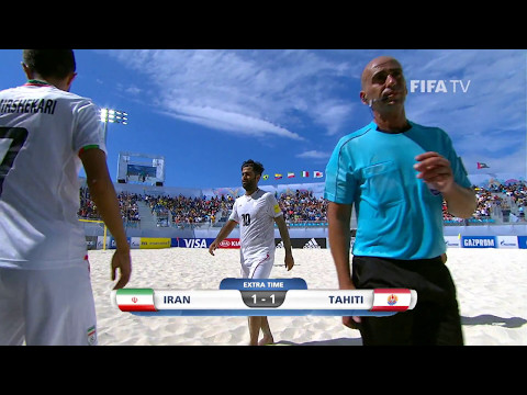 Match 29: Iran V Tahiti - FIFA Beach Soccer World Cup 2017