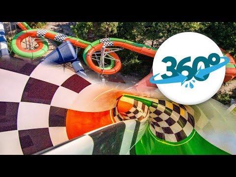 [360° VR] Jungle Run at Alpamare Pfäffikon in Virtual Reality!
