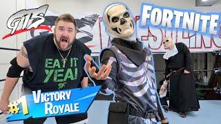Fortnite Skull Trooper Halloween Tables N Chairs Challenge