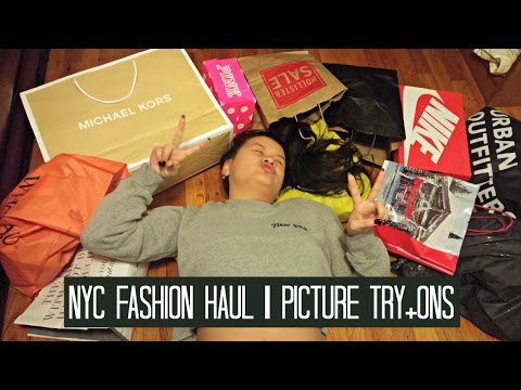 NYC FASHION HAUL | PICTURE TRY-ONS