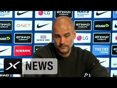 Pep Guardiola: Druck beim FC Bayern München ist größer | Manchester City - West Bromwich Albion