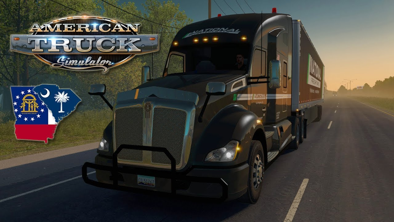 American Truck Simulator #57 (Hard Economy) - SOUTH CAROLINA YOGURT |  Tuesday Week 32