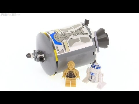 Lego star wars droid escape from 2001 set 7106 youtube - Lego star wars base droide ...
