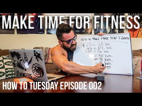How To Make Time For Fitness