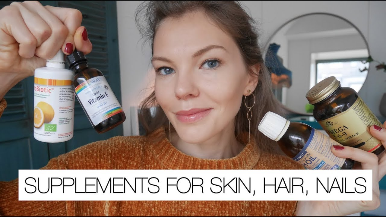 Best Supplements For Skin Hair Nails Youtube