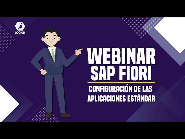 Webinar SAP Fiori - Configuración de las aplicaciones Estándar
