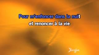 Karaoké Mourir auprès de mon amour (Je te dirai des mots) - Demis Roussos *