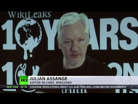 Assange: WikiLeaks to release all US election docs by Nov. 8