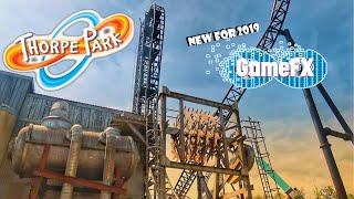 THORPE PARK VLOG 2019 || NEW GAME FX!!