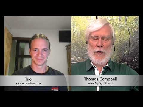 WE ARE LIVING IN A VIRTUAL REALITY- THOMAS CAMPBELL PT.2
