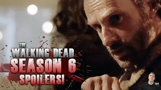 The Walking Dead Season 6 Episode 12 - Not Tomorrow Yet Spoilers! Tc2 Q and A
