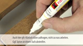 Bezbarvý lak ve fixu Pinsel-Fix® Klarlack