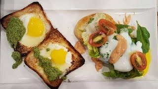 Show de huevos al plato