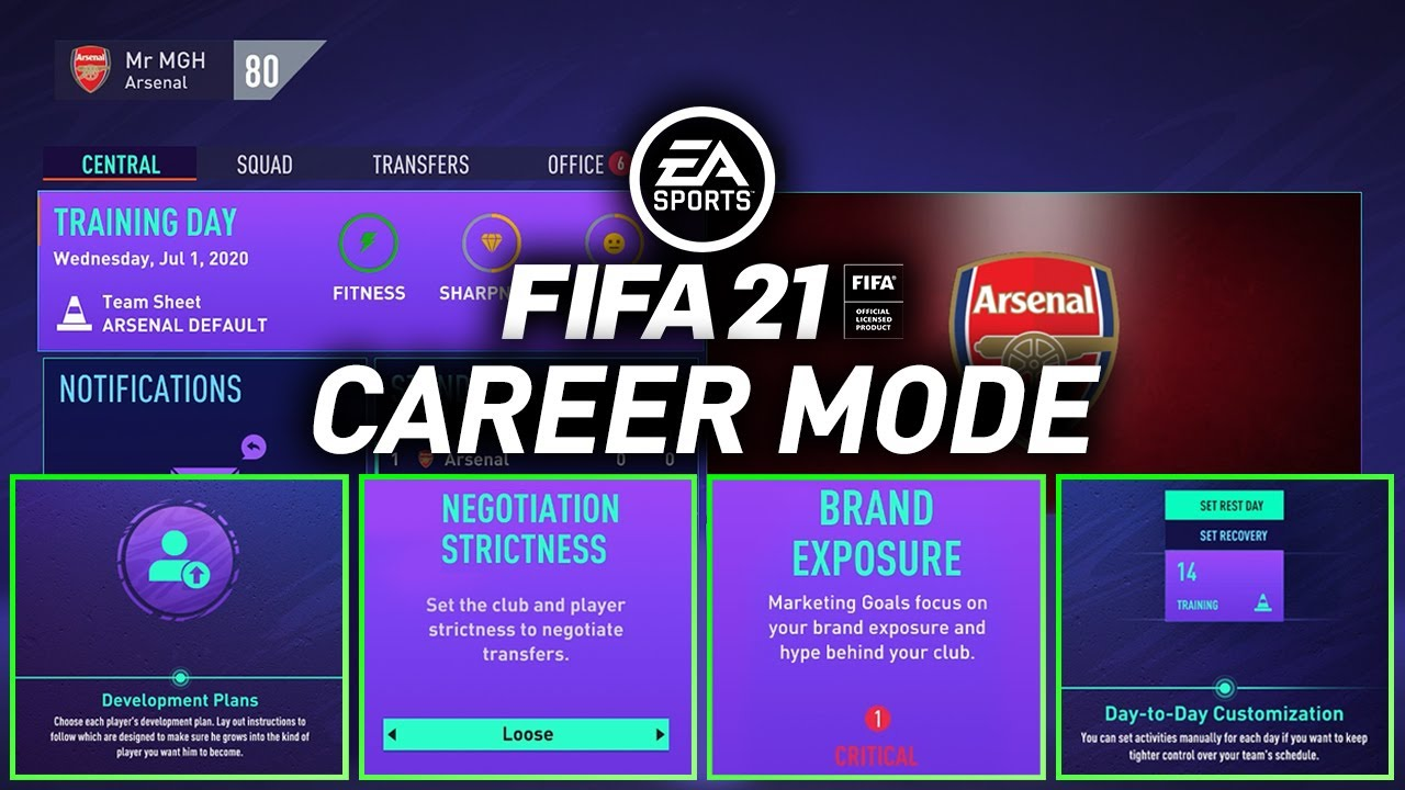 HOW TO START YOUR FIRST FIFA 21 CAREER MODE!