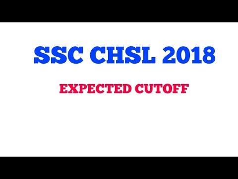 SSC CHSL 2017 -2018 Expected Cutoff