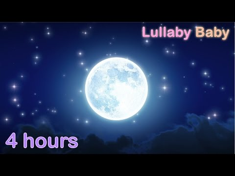 ☆ 4 HOURS ☆ CLAIR DE LUNE Debussy ♫ MUSIC BOX ☆ Relaxing Music for Babies to go to Sleep