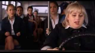 Party in the U.S.A (PITCH PERFECT BUS SCENES FAT AMY GOT SHOT BY MEXICAN FOOD)