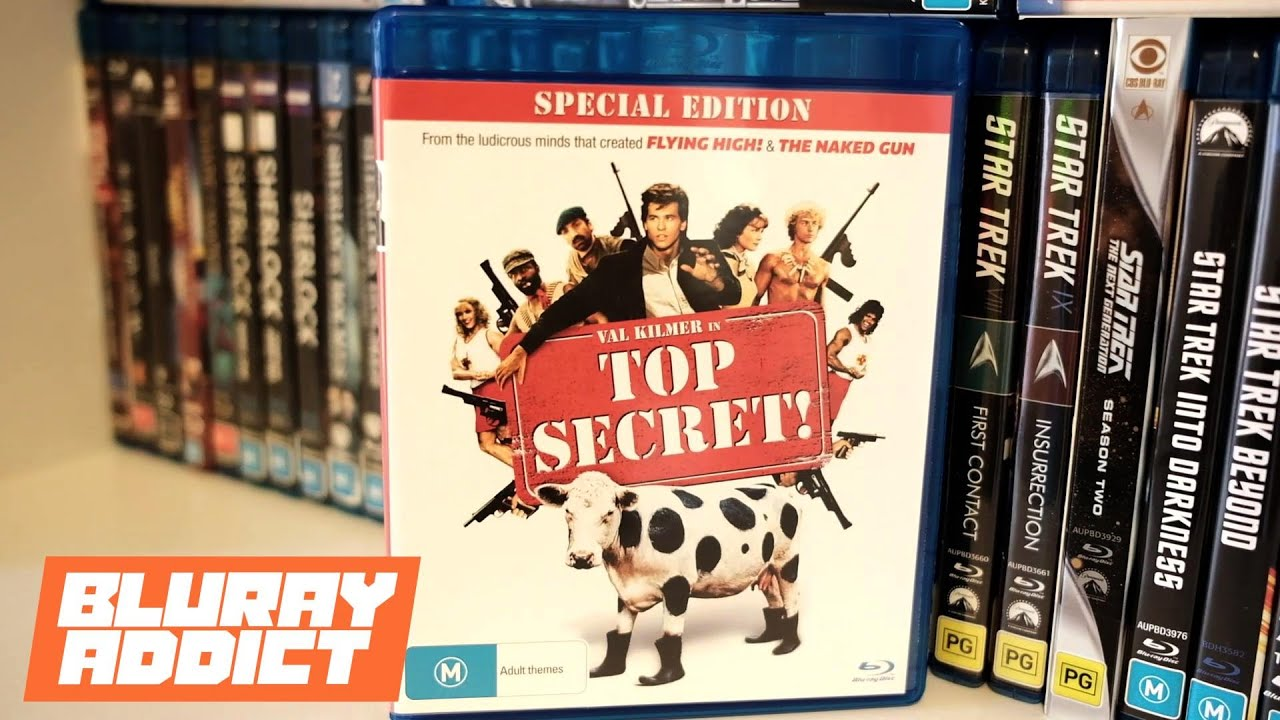 Top Secret! Comes To Bluray For The First Time!