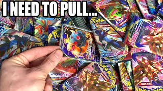 I NEED TO PULL THE *MOST EXPENSIVE POKEMON CARDS* IN SWORD AND SHIELD PACKS! [opening]