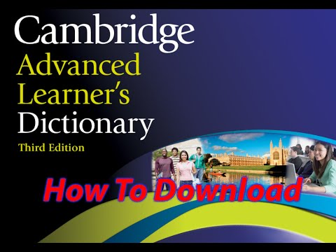 How To Download And Install Cambridge Advanced Learner's 3rd  Free 2016