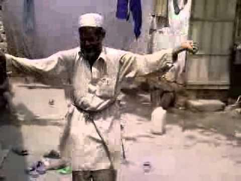 Afghan funny old Man Dancing :D
