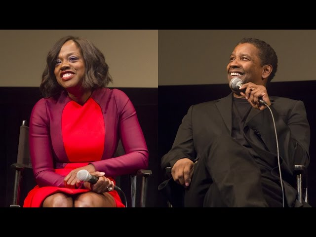 'Fences' Q&A | Denzel Washington, Viola Davis & Cast