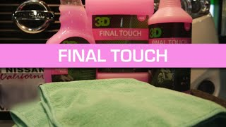 How to use 3D Final Touch on finish