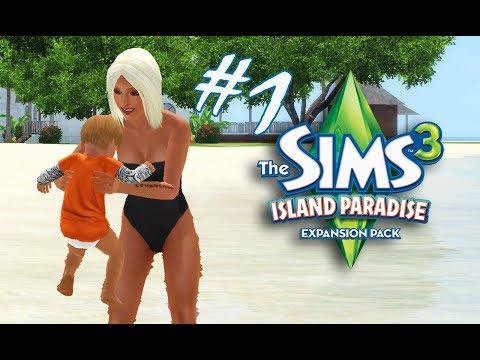 The Sims 3 Семейный круиз #1 Райский городок🏝