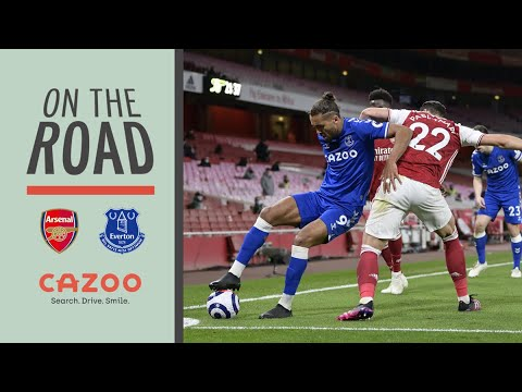 BIG WIN AT THE EMIRATES! | ON THE ROAD: ARSENAL V EVERTON