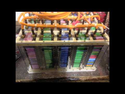 How to build 1200 cell lithium ion battery pack (Tesla style battery)