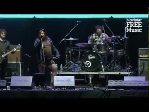 Massacre en vivo Movistar Free Music 2014