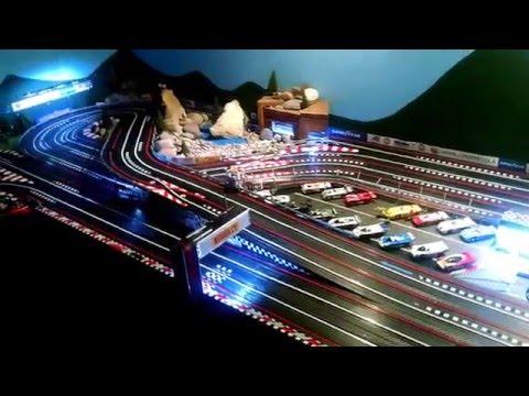 Tomy AFX HO slot car track