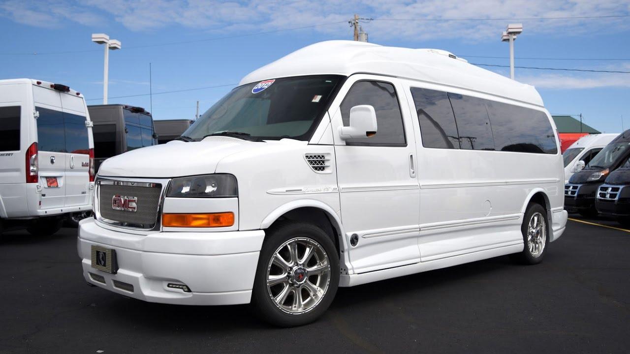 2012 GMC Explorer Limited X-SE Limousine Conversion Van ...