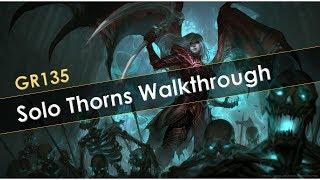 GR135 Solo Thorns Necro Walkthrough