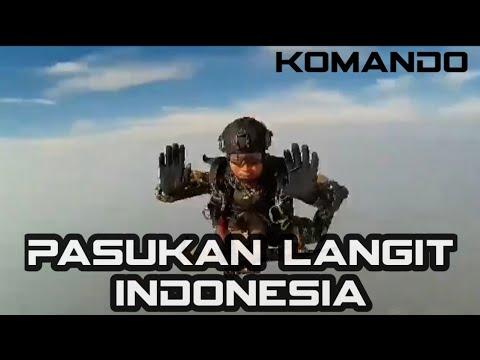 Download Terjun payung kopassus - infiltrasi udara | indonesian skdive fire