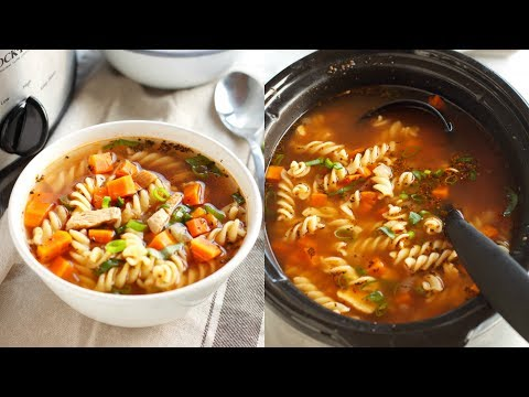 Best Ever Slow Cooker Chicken Noodle Soup Recipe
