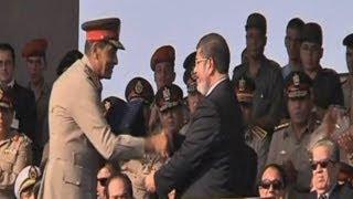 الرئيس المصري الجديد يتسلم السلطة رسميا من الجيش