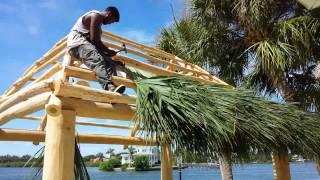 Building The Tiki Hut Part 2