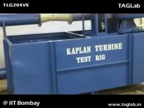 Kaplan Turbine Test Rig TLG204VE