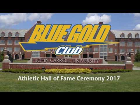 Hall of Fame Celebration 2017 Inductees John Carroll University
