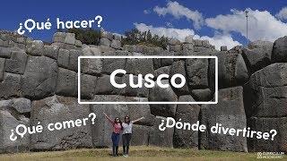 Ruta #8 CUSCO | CURRICULUM MOCHILERO