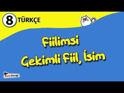 8. Sınıf Türkçe Ders #1 - Fiilimsi, Çekimli Fiil, İsim