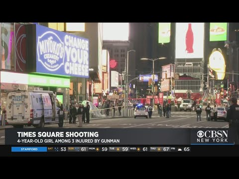 4-Year-Old Girl Among 3 Injured In Times Square Shooting