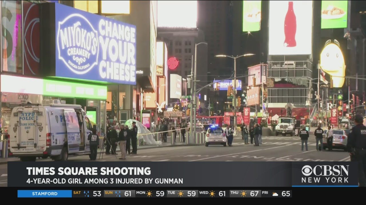3 injured in Times Square shooting