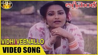Vidhi Veenallo Video Song || Agreement Movie || Nagendra Babu, Anusha ||  Sri Venkateswara Videos