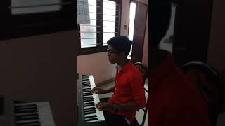 Odiyan song-  kondoram kondoram piano cover by Devadathan