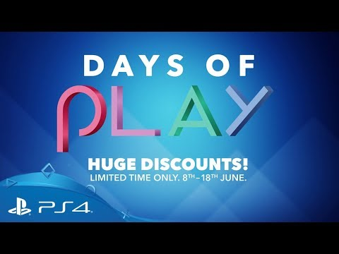 Days Of Play | 8th - 18th June 2018