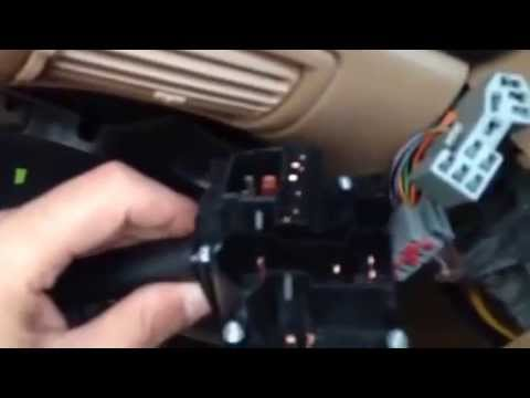 How to Replace a turn signal (multifunction) switch - YouTube