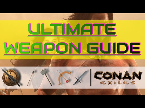 how to change weapon conan exiles