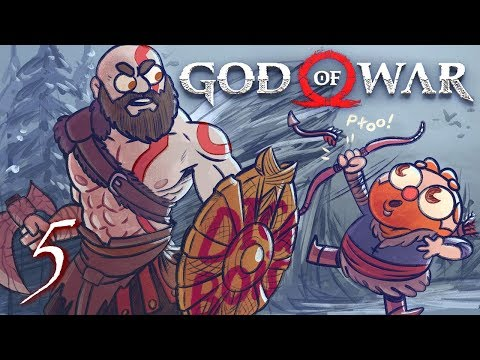God of War HARD MODE (God of War 4) Part 5 - w/ The Completionist